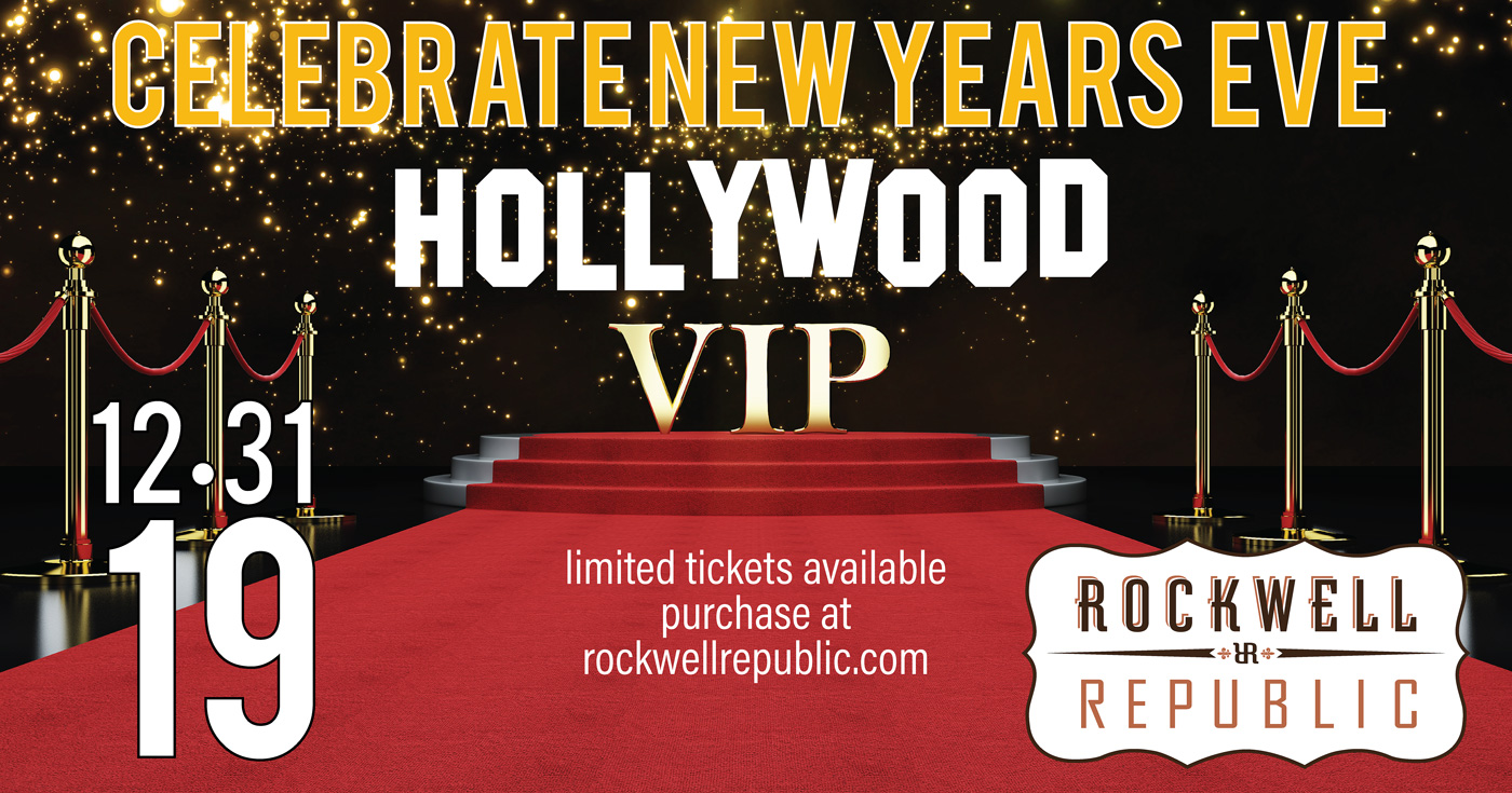 New Year's Eve Party Rockwell Republic - Hollywood VIP